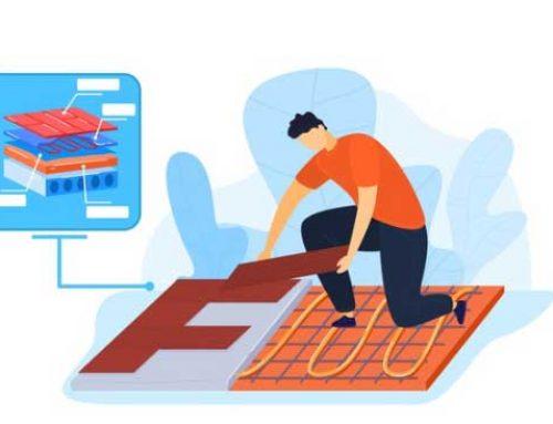 آموزش نصب پارکت لمینت و پارکت چوبی بر روی سیستم گرمایش از کف